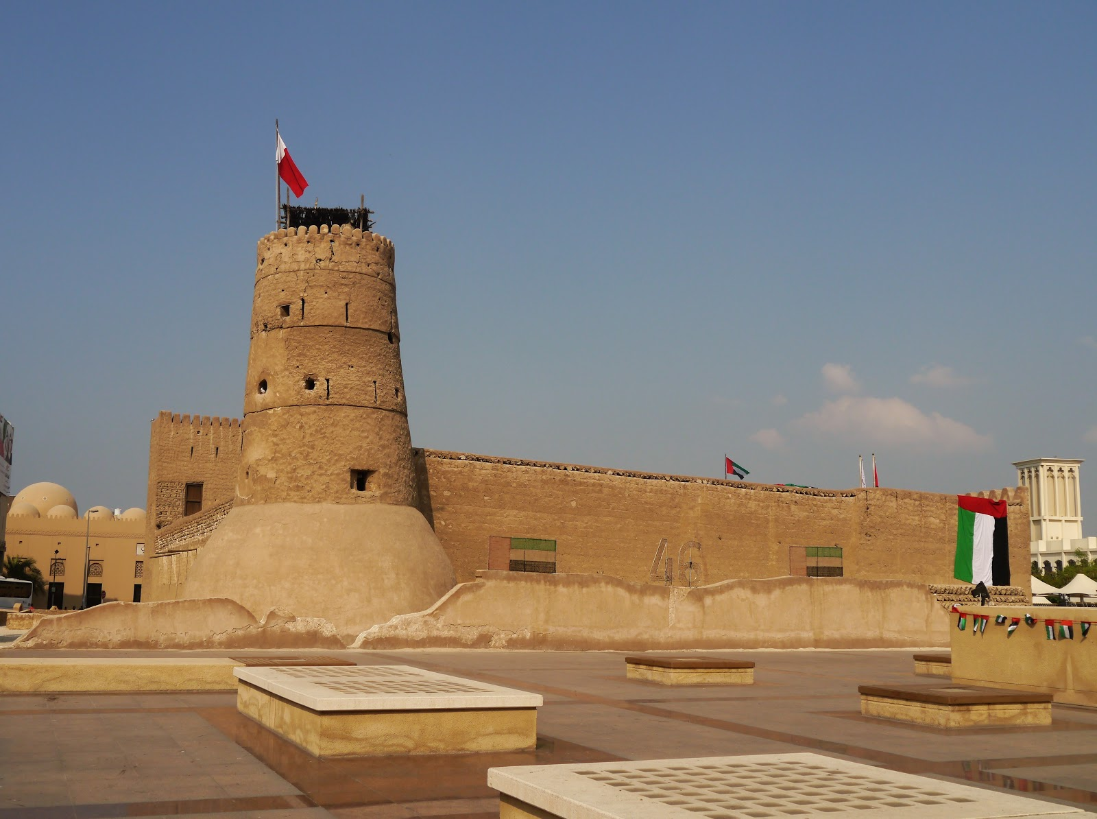 Al Fahidi Fort and Dubai Museum
